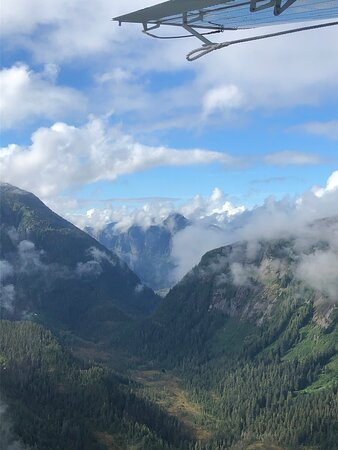 Misty Fjords Flight Tour: Pic from my iPhone