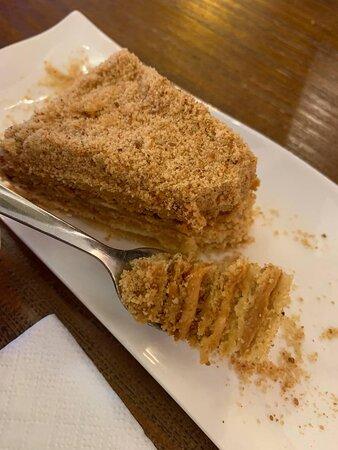 medovik (honey cake)