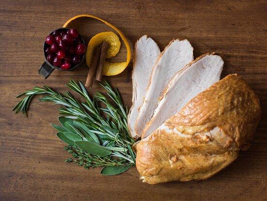 Turkey Dinner at the Golden Lamb