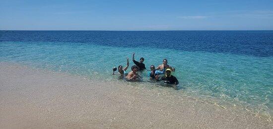 Enjoying Independence Day at Jade Beach
