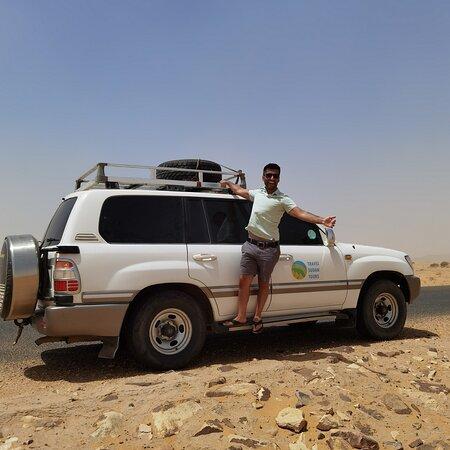 Travel Sudan Tours, car 4WD Desert Tour