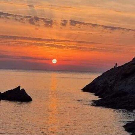 Córcega, Francia: tramonto in Corsica