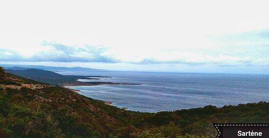 Córcega, Francia: Corsica  paesaggio in prossimità di Sartène