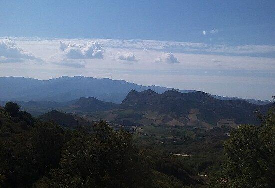 Córcega, Francia: Corsica paesaggio dell'entroterra