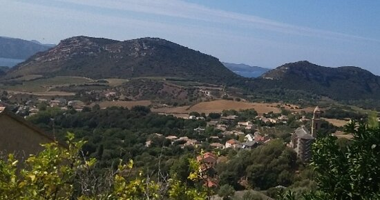 Córcega, Francia: Corsica paesaggio