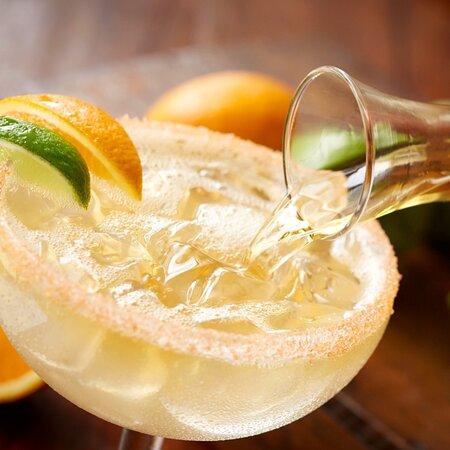 Italian Margarita made with Jose Cuervo Especial Silver tequila, triple sec and amaretto.