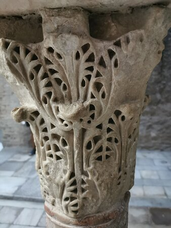 Capiteles del Bañuelo.