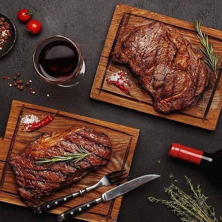 Rib eye & Sirloin Steaks