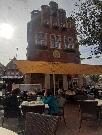 Vooraanzicht Rathaus cafe