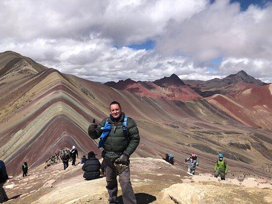 Mountain Vinicunca Full Day: Montaña de 7 colores, el lugar más alto que he subido…hermoso lugar