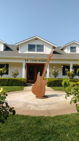 Sonoma Valley Wine Trolley Including Lunch: BR Cohn winery entry