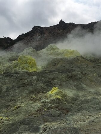 Smelly sulphur vents