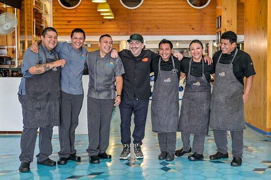Los artistas de la Cocina.