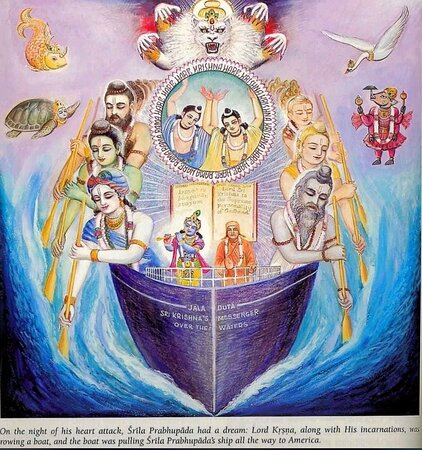 Why did Srila Prabhupada came to America ? What was his vision ? Learn more @gitamuseum ! Book your tour now on www.bgmuseum.com !
