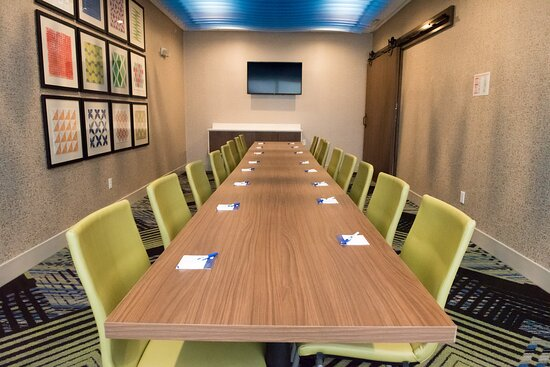 Our board room will accommodate up to 16 people.