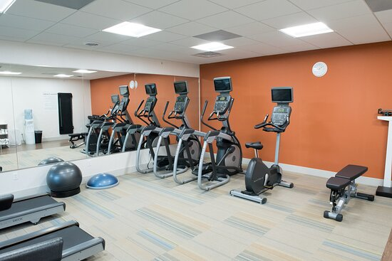 State of the art fitness center is available 24 hours per day.