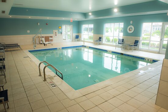Enjoy our heated indoor swimming pool from 10 am til 10 pm daily