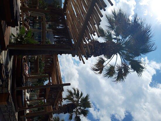 chill vibes на пляже отеля