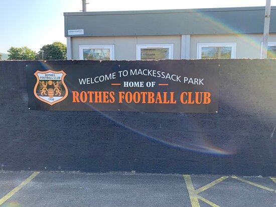 Rothes, UK: Entrance