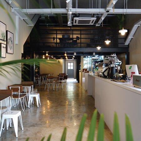 Interior The 92's Café, Kuantan
