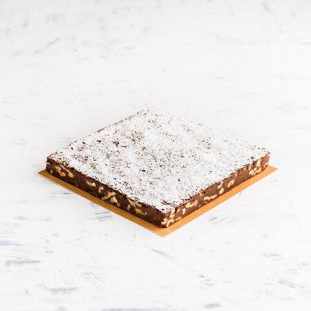 Brownie de chocolate (sin gluten)