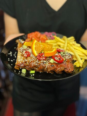 Food from The Recipe Kitchen at the Ribs of Beef