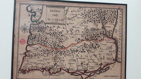 Mapa antigo.