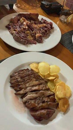 Meano, Spain: Nuestras carnes