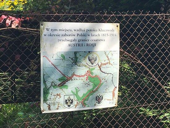 Granica Zaborow W Dolinie Kluczwody