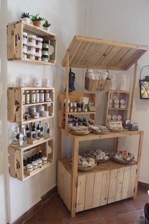 Secção de cosmética natural e orgânica | Cosmetics - all natural and organic