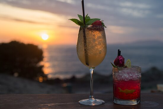 Explore the ultimate place for tasteful plates and drinks, professional yet friendly service and astonishing sunset view over the sea!