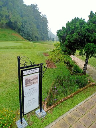 Bukit Fraser, Malasia: Golf course 2