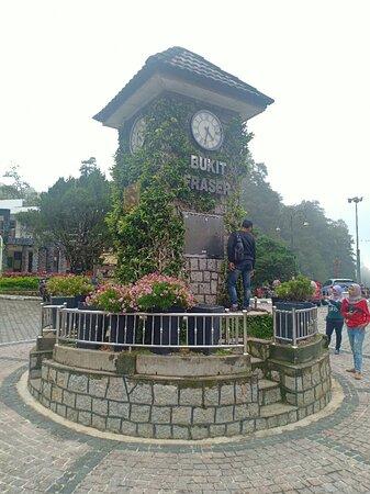Bukit Fraser, Malaysia: 福隆港钟楼