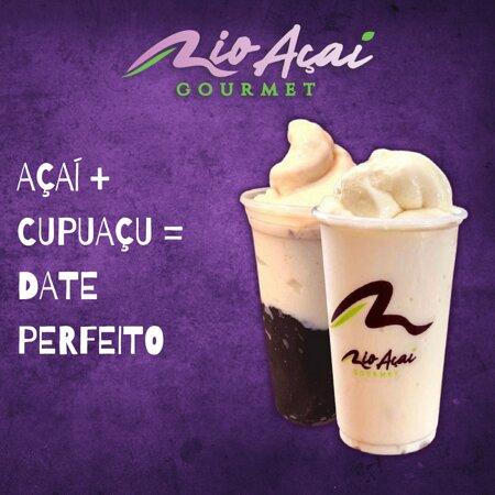 Açaí + Cupuaçu = Date Perfeito.