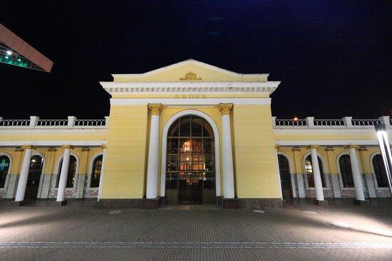Железнодорожный вокзал Адлера