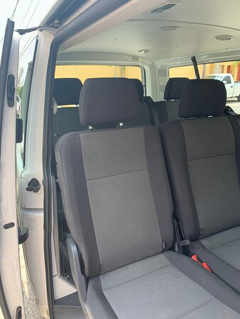Comfortable seats. Air Conditioning. Private transfer.