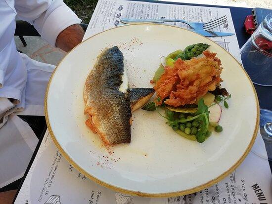 1 filet de poisson (pas très copieux pour 21 ou 22€)
