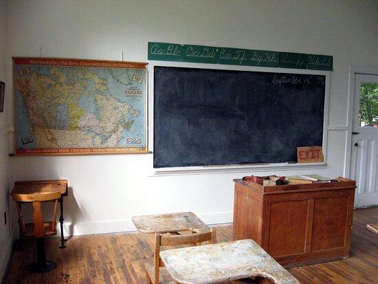 Great Old School Room.