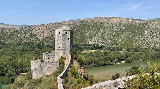 Walls and tower