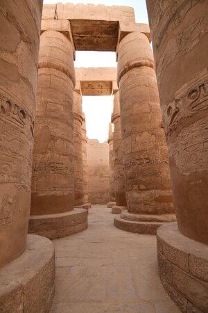 Karnak Temple in Luxor is amazing