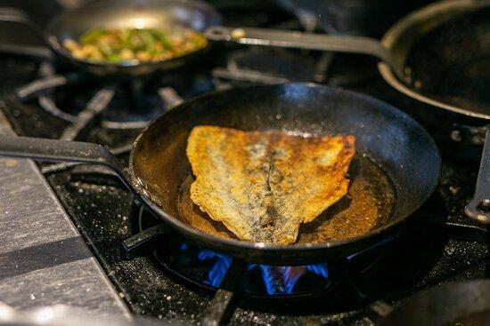 Fresh Pan Seared Seafood