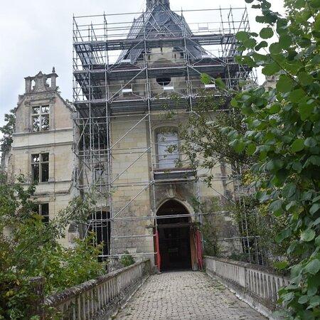 Вьен, Франция: De ingang van het Château