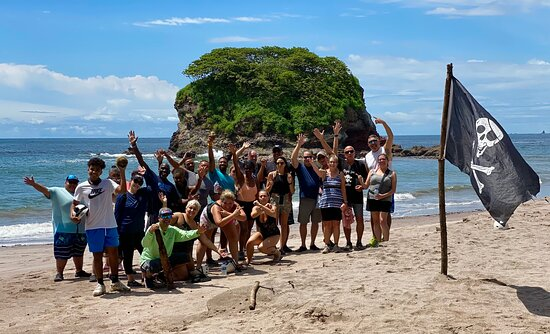 Private Transfer - San Jose Airport TO OR FROM Guanacaste (All Hotels & Airbnb): Pirate Beach on our ATV excursion