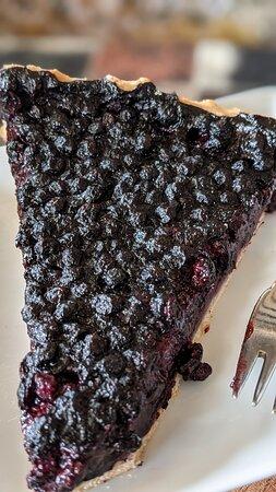 Très bonne tarte aux myrtilles