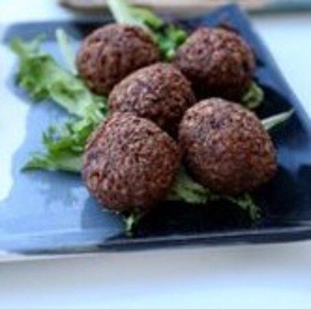 vegan sausage balls