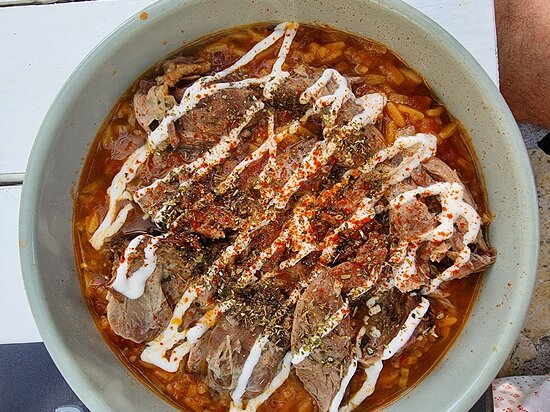 Delicious traditional greek food