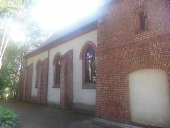 Храм преподобного Серафима Саровского, ул. Баха, 14, Светлогорск