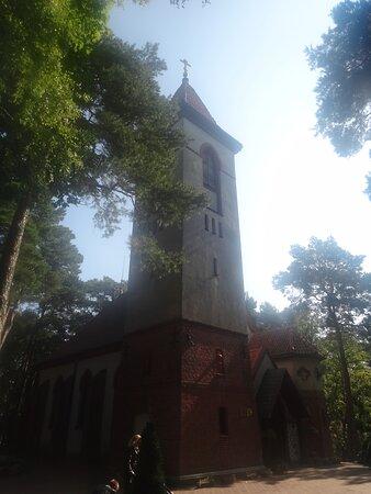 Колокольня, Храм преподобного Серафима Саровского, ул. Баха, 14, Светлогорск