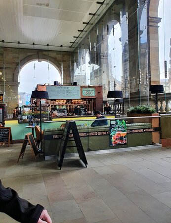 Great railway station bar.
