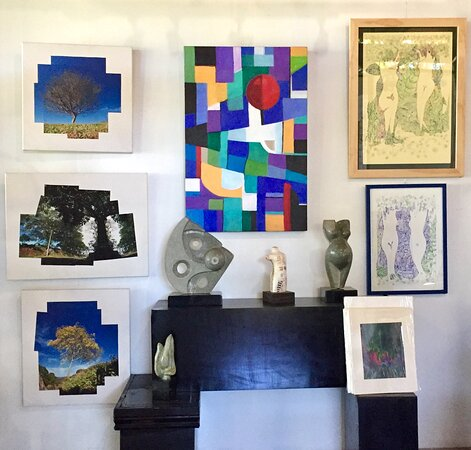 One-of-a-kind artworks by various Costa Rican artists